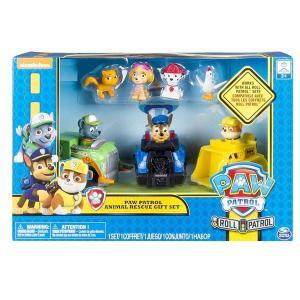 パウパトロール  おもちゃ アニマル レスキュー プレイ ギフト セットミニカー フィギュア  男の子 女の子 子供 幼児|acomes