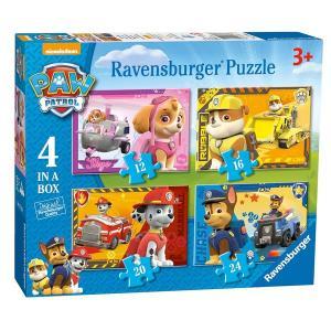 パウパトロール おもちゃ パズル 4個セット  12から26ピース  スカイ マーシャル  ラブル チェイス 子供 知育玩具 ギフト|acomes