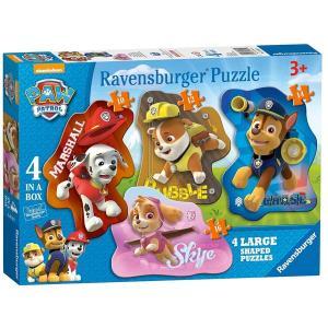 パウパトロール   おもちゃ  パズル  4個セット マーシャル  チェイス スカイ ラブル 子供 知育玩具 ギフト|acomes