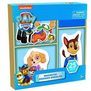 パウパトロール   おもちゃ  ウッド パズル 着せ替え 収納ケース 木製 着せ替え マーシャル  チェイス スカイ ラブル 子供 知育玩具 ギフト|acomes
