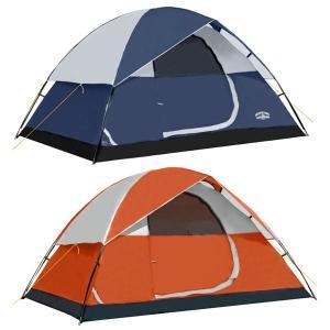 テント キャンプ アウトドア 4人用 防災 非常  ハイキング 旅行 釣り|acomes
