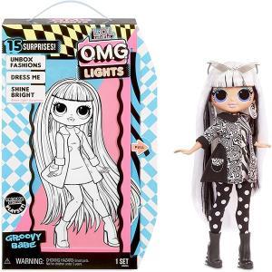LOLサプライズ グッズ  ベイビー ファッション ドール ブラックライド 光る プレゼント 誕生日 ギフト おもちゃ 人形 エルオーエルサプライズ|acomes