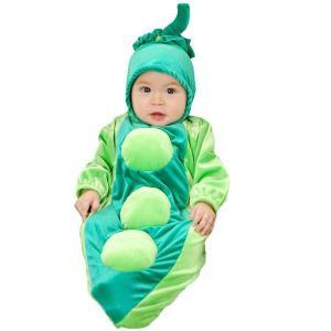 衣装 コスチューム お豆さん 赤ちゃん用ハロウィンコスプレ衣装ハロウィン 衣装・コスチューム|acomes