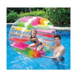 プール 家庭用 子供 浮き輪 ウォーター ホイール レインボー プール 水遊び ウォーター フロート 遊具 海 エアーマット インスタ|acomes