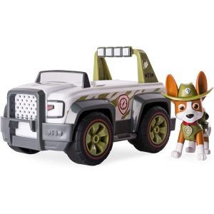 パウパトロール Paw Patrol ジャングルレスキュー トラッカー ジャングル クルーザービークル&フィギュア 乗り物  子供 誕生日 ギフト おもちゃ|acomes