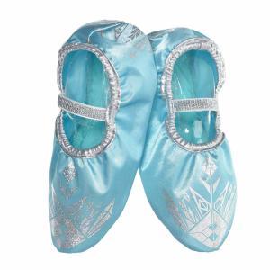 アナと雪の女王 エルサ 子供用 シューズ 靴 プリンセス ハロウィン ディズニー コスプレ 仮装 通常便は送料無料|acomes