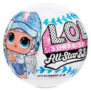 【2020年7月中旬入荷予定】L.O.L. サプライズ! 限定版 オールスター BB's スポーツ ベースボール  ドール 誕生日 ギフト おもちゃ 人形|acomes