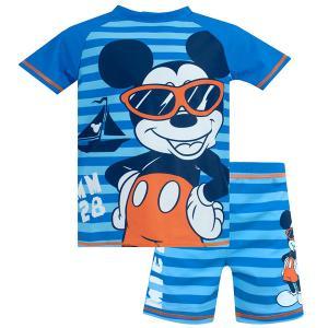 ミッキーマウス  水着セット 子供用 ラッシュガード 水着 男の子 スイムセット|acomes