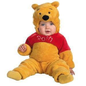 赤ちゃん ディズニー コスチューム くまのプーさん 着ぐるみ ベビー 服 ベビープー クマ コスプレ 衣装|acomes