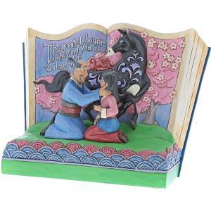 ムーラン ディズニー 人形 フィギュア ジムショア ストーリーブック 置物 インテリア 彫刻 プリンセス コレクション acomes