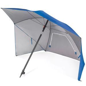 テント パラソル 青 日よけ 大きい 日傘 折りたたみ スポーツブレラ ビーチ キャンプ アウトドア  グッズ グランピング|acomes