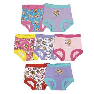 パウパトロール  グッズ トイレトレーニングパンツ 7枚セット 下着 子供用 女の子用|acomes