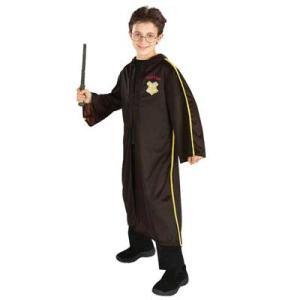 ハリーポッター ハリー・ポッターと炎のゴブレット」公式 第一の課題のローブ 子供用衣装 マント ユニバ コスプレ usj|acomes