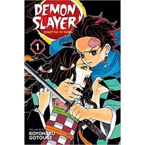 鬼滅の刃 英語版 漫画 コミック 英語 教材 Demon Slayer vol.1