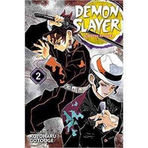 鬼滅の刃 英語版 漫画 コミック 英語 教材 Demon Slayer vol.2