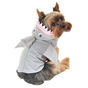 ペット用 サメ シャーク ペット コスチューム 犬の服 可愛い ハロウィン コスプレ acomes