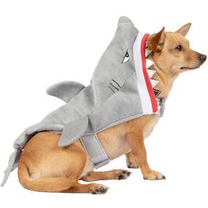 ペット用 サメ 不機嫌な シャーク ペット コスチューム 犬の服 可愛い ハロウィン コスプレ acomes