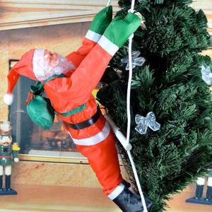 クリスマス 飾り オーナメント クライミング サンタクロース|acomes