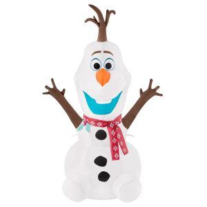 クリスマス 飾り オラフ 膨らませる デコレーション 飾り付け アナと雪の女王|acomes