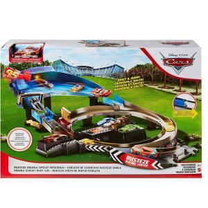 カーズ おもちゃ 車 レース サーキット ディズニー ピクサー 玩具 プレイセット スポーツカー 男の子 子供 家遊び プレゼント クリスマス|acomes