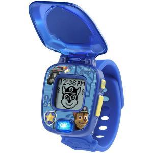 パウパトロール ラーニングウォッチ チェイス  ブルー 時計 アラーム タイマー ストップウォッチ 4種のゲーム 通常便は送料無料|acomes