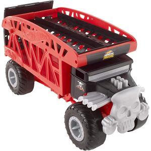 クリスマスプレゼント 子供 ミニカー おもちゃ ホットウィール モンスタートラック キャリアカー 1...