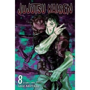 呪術廻戦 英語版 漫画 コミック 英語教材  vol.8