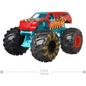 おもちゃ 車 ホットウィール モンスタートラック デモダービー Demo Derby ダイキャスト ...