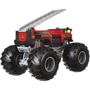 おもちゃ 車 ホットウィール モンスタートラック ファイブアラーム 5 Alarm ダイキャスト ミ...
