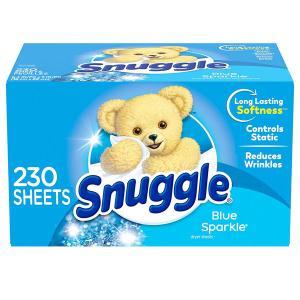 乾燥機 シート 梅雨対策 消臭 芳香 スナッグル ファーファ ブルースパークルの香り 230枚 Snuggle 柔軟剤 車内 海外 acomes
