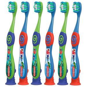 Colgate コルゲート 歯ブラシ 子供 6本セット 2~5歳用 パジャマスク アソートカラー やわらかめ 歯磨き|acomes