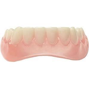 きれいな 歯並び マウスピース 上歯&下歯 2セット インスタント かぶせ 歯 Professional Cosmetic Upper & Lower|acomes