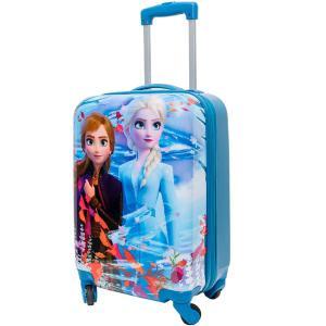 アナと雪の女王2 エルサ 子供用 スーツケース  キャリーバッグ  ABS キャリーオン  53cm ディズニー 旅行 鞄|acomes