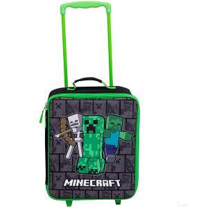 マインクラフト グッズ  かばん ローリング  ラゲッジ 35cm キッズ 旅行 バッグ 子供用 スーツケース マイクラ テレビゲーム|acomes