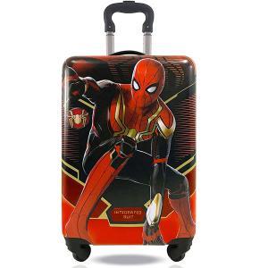 スパイダーマン 子供用 キャリーオン ケース スーツケース  ラゲッジ 旅行かばん ギフト|acomes