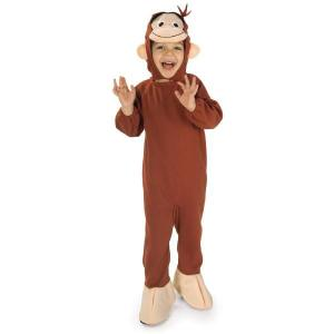 ハロウィン 仮装 コスプレ 子供 衣装 幼児 人気 おさるのジョージ コスチューム 猿 サル きぐるみ 動物 アニメキャラクター 申年|acomes