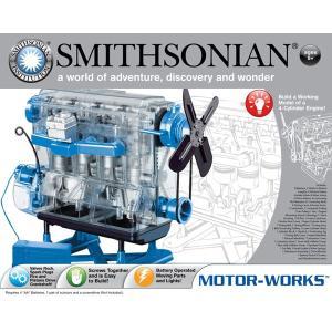科学 実験 工作 学習 おもちゃ サイエンストイ 電動 モーター 仕組み 海外 英語 スミソニアン Smithsonian Motor-Works|acomes