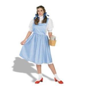 ハロウィン 大きいサイズ ワンピース レディース ドレス オズの魔法使い ドロシー コスプレ衣装|acomes