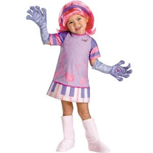 コスプレ 子供 コスチューム 人気 服・ドゥードルボップス公式 ディーディー Doodlebops Dee Deluxe Toddler acomes