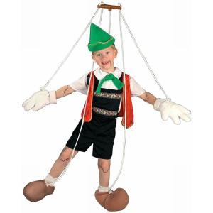 子ども(男の子)向け操り人形のコスチュームです。  商品内容 ・ハーネス ・棒 ・ひも ・帽子 ・ベ...