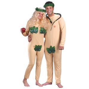 おもしろ コスチューム ハロウィン 仮装 コスプレ ペア カップル用 アダムとイブ あすつく|acomes