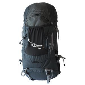 送料無料 Aconcagua アコンカグア Cordoba コルドバ 35 BLACK /スポーツ リュックサック35L  男女兼用 レインカバー付き 登山用リュック ハイキング アウトドア|aconcagua