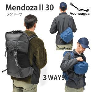 30L リュックサック バックパック Mendoza メンドーサ 30 レインカバー付き Aconcagua アコンカグアの画像