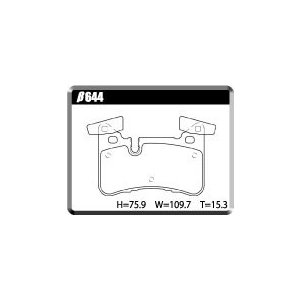【BENZβ644AMGリアセット】AMG C63/E63 低ダストパッド ユーロストリート|acre-onlineshop