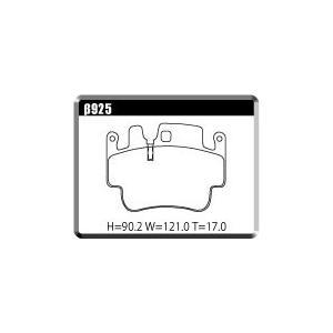 【PORSCHEβ925リア用】ポルシェ996 GT3 リア用 低ダストパッド ユーロストリート|acre-onlineshop