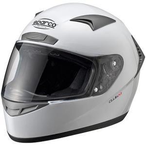 スパルコ 4輪用ヘルメット CLUB X-1 ホワイト ECE05規格|acre-onlineshop