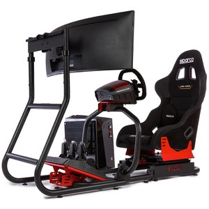 SPARCO GAMING SIM RIG IIフルキット|acre-onlineshop