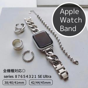 Apple Watch (アップルウォッチ) チェーンバンド/ベルト