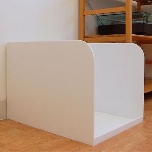 犬トイレ おしゃれ 飛び散り はみ出し防止 ダブルワイドシート おしっこ アクリル『犬トイレ(ダブルワイドサイズ)縦長_ホワイト』【代引不可】|acry-ya