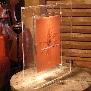 立体額 ポスターフレーム ケース ボックス 額縁 B3 おしゃれ『アクリル立体額B3サイズ_オールクリアー』|acry-ya